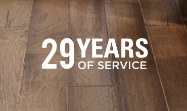 29 years of service | Carpet Exchange